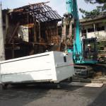 小牧市の解体工事が完工