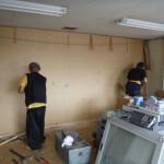 事務所の内装解体が完工