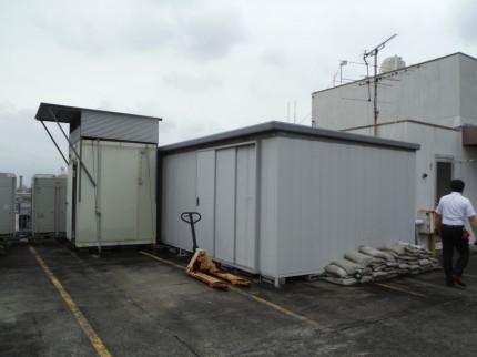 名古屋市中川区の業務用の冷蔵庫、物置の撤去