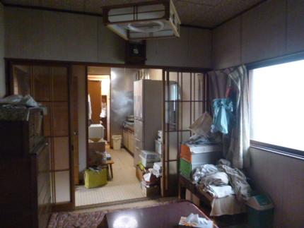 不用品 犬山市の住宅の解体工事