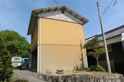 愛知県江南市の鉄骨造の解体工事