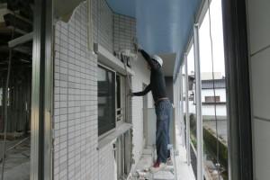 名古屋市守山区の展示場の内装解体