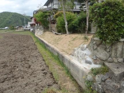 豊田市ブロック塀の解体工事