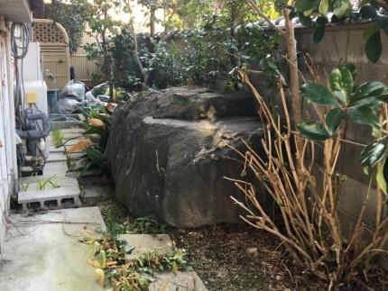 庭石の撤去処分|名古屋市名東区