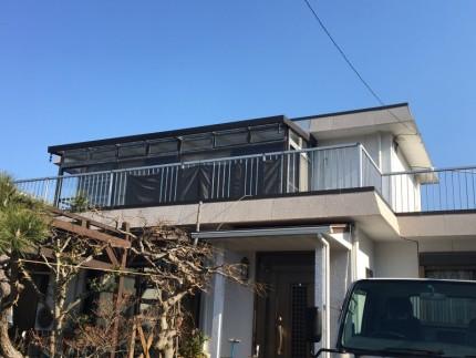 岐阜県各務原市のテラス解体工事