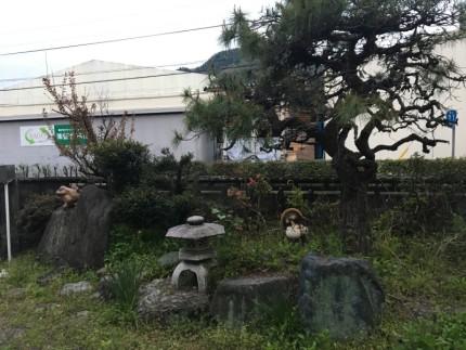 名古屋の灯篭撤去処分
