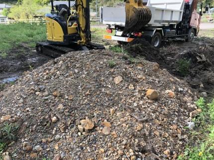 残土の撤去積込|名古屋市守山区