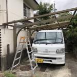 名古屋市中川区|カーポート撤去工事