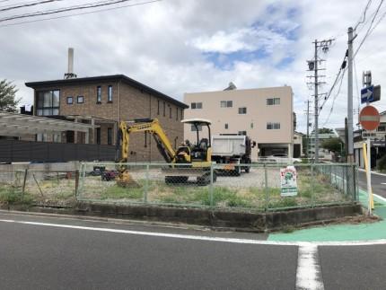 名古屋市中村区|フェンス撤去工事|着工前