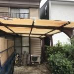 名古屋市守山区|カーポート解体工事