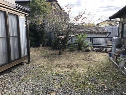 名古屋市名東区の庭石撤去を開始します