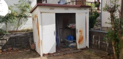 物置の撤去|愛知県犬山市