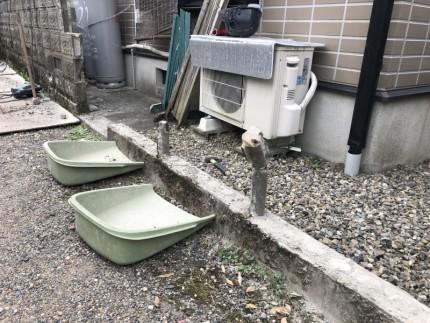 切断面|岐阜市のブロック塀撤去工事