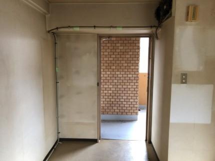 電気配線撤去|名古屋市中川区の美容室の現状復旧