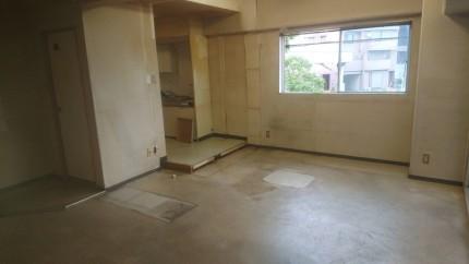 内装解体後|名古屋市中川区の美容室の現状復旧