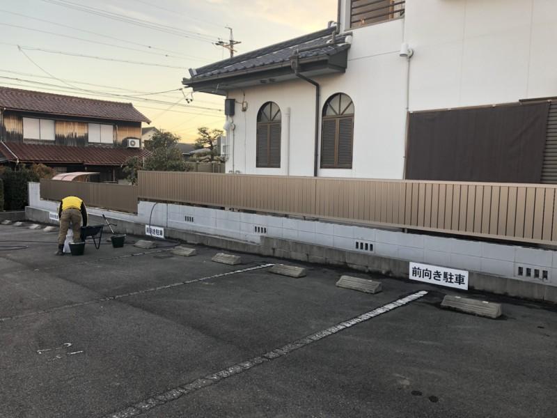 名古屋市南区ブロック工事【フェンス設置】