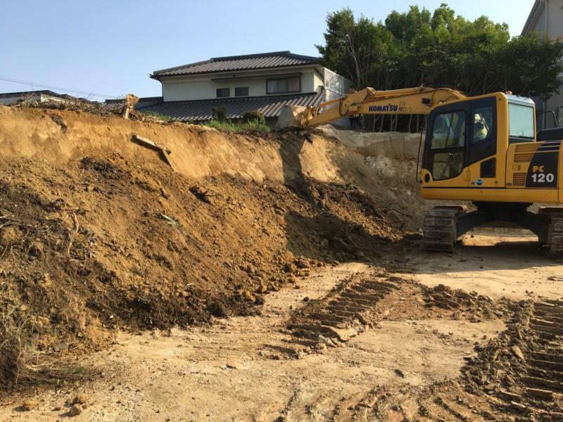 【費用事例】名古屋市天白区の残土処分すきとり工事