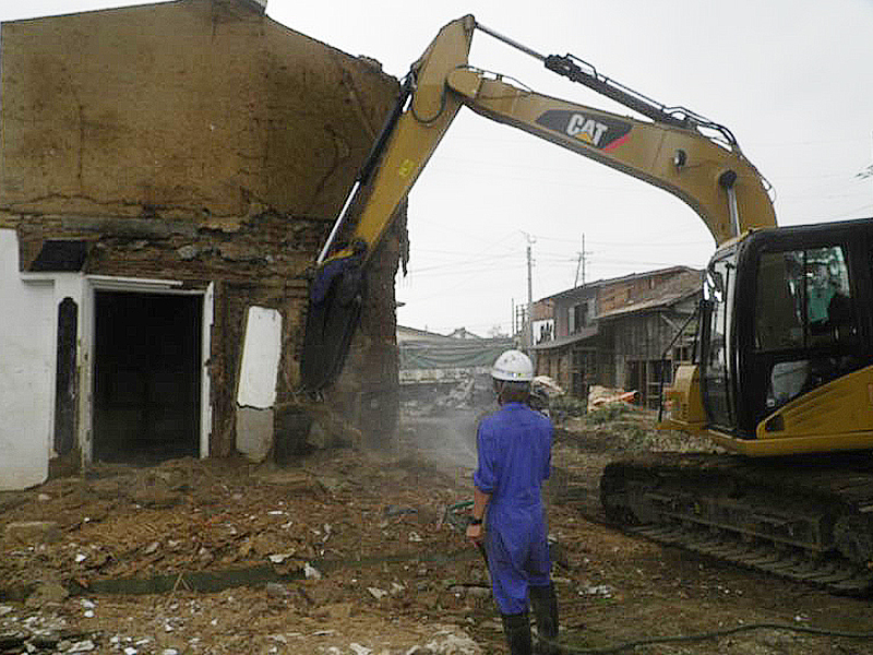 【費用事例】名古屋市中村区の木造平屋住宅の解体工事