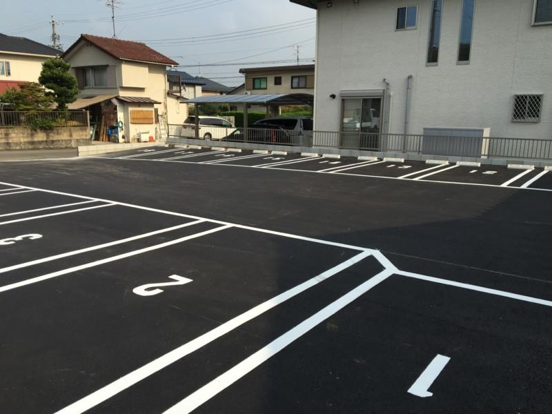 愛知県犬山市のアスファルト舗装工事