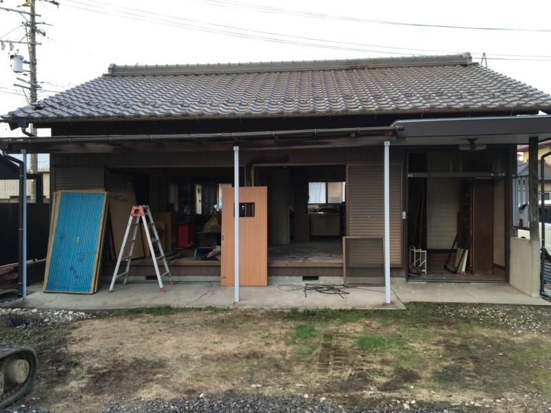 【家の建替え】名古屋市中川区の木造平屋の解体工事【20坪60万円】