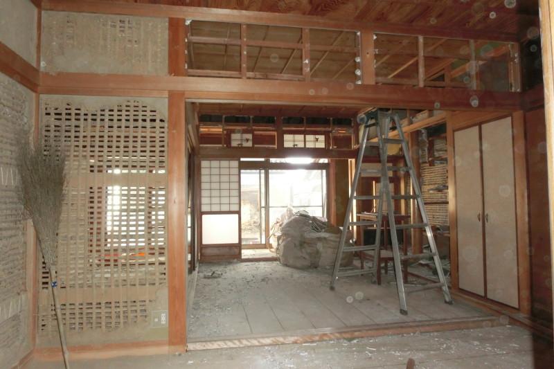 岐阜県各務原市の解体工事