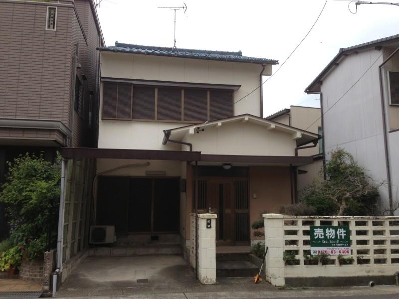 名古屋市西区の木造2階建て解体工事お見積り調査