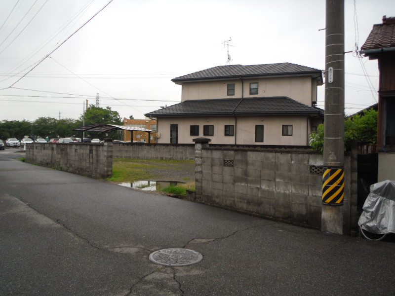 愛知県春日井市のブロック塀の解体工事お見積もり調査
