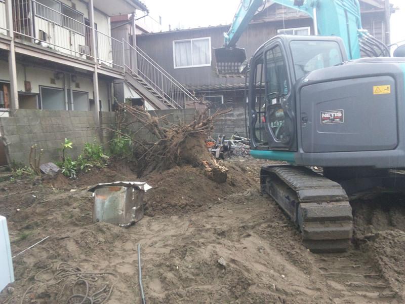 愛知県小牧市の解体工事