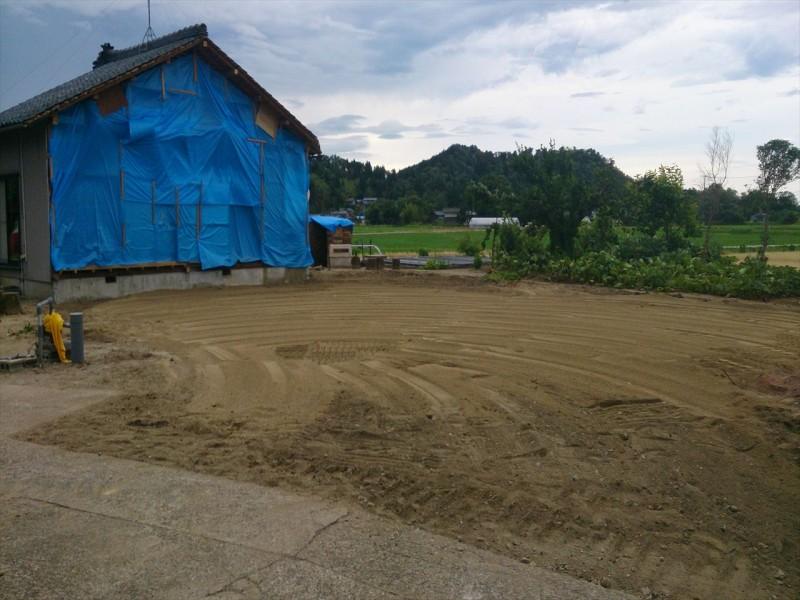 名古屋市名東区の切離し解体工事