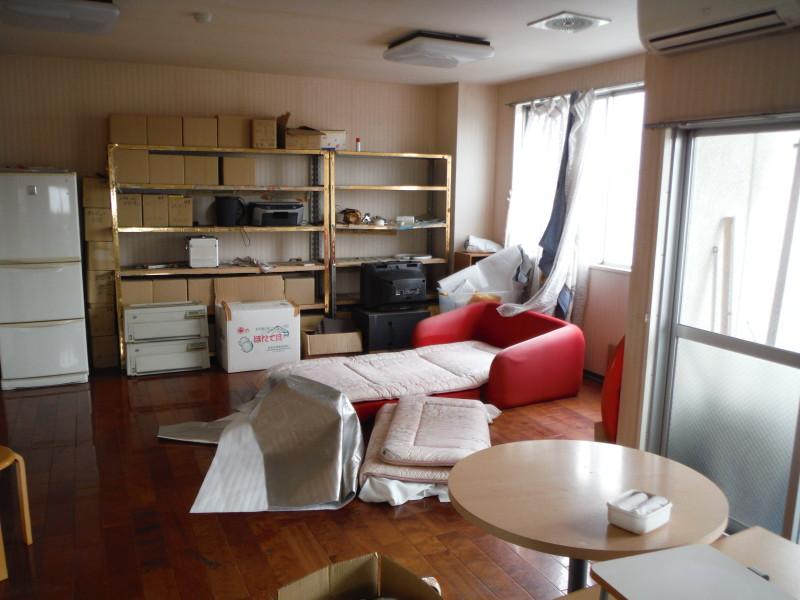 名古屋市中川区の店舗内装解体工事お見積り調査