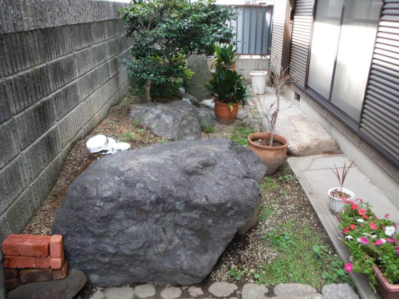 庭石の撤去お見積り
