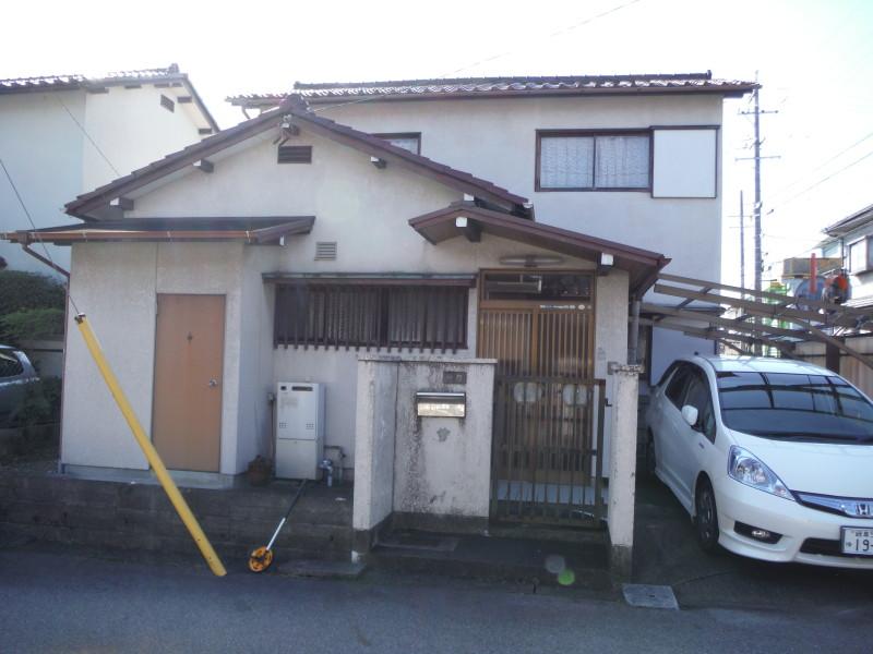 愛知県犬山市の木造2階建て解体工事お見積り調査