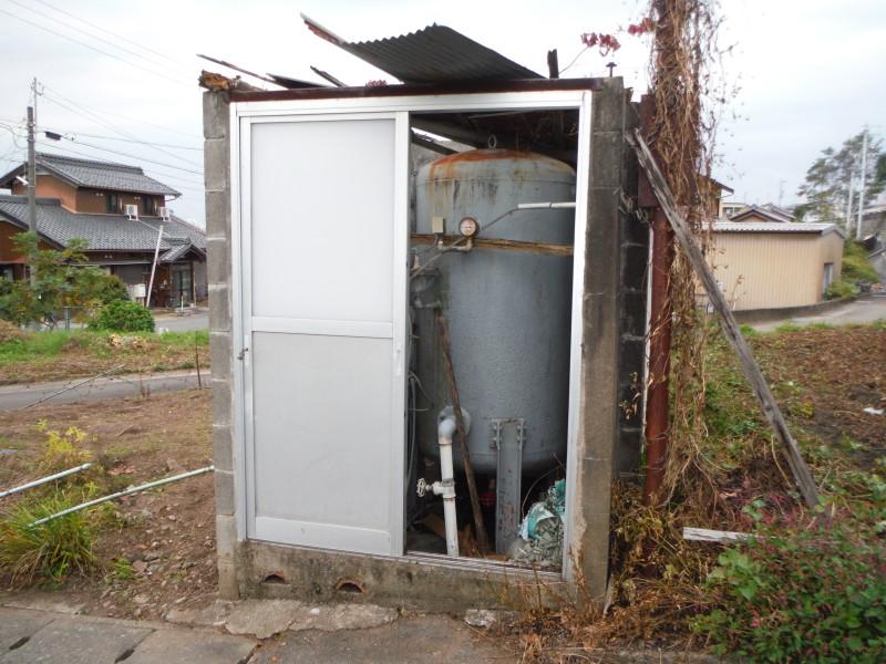 岐阜県各務原市のタンク撤去工事お見積り調査