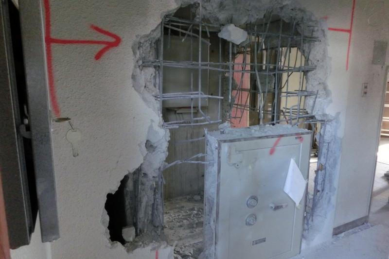 マンションの内装解体|ハツリ工事