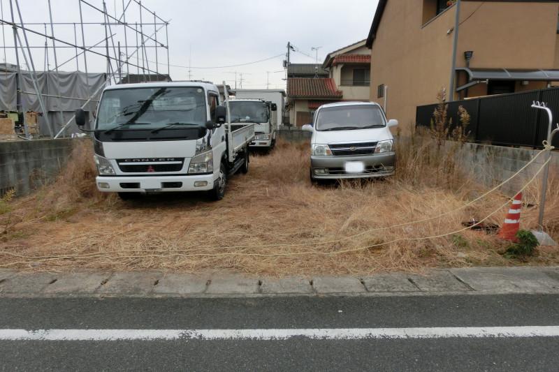 名古屋市守山区の解体工事の足場養生