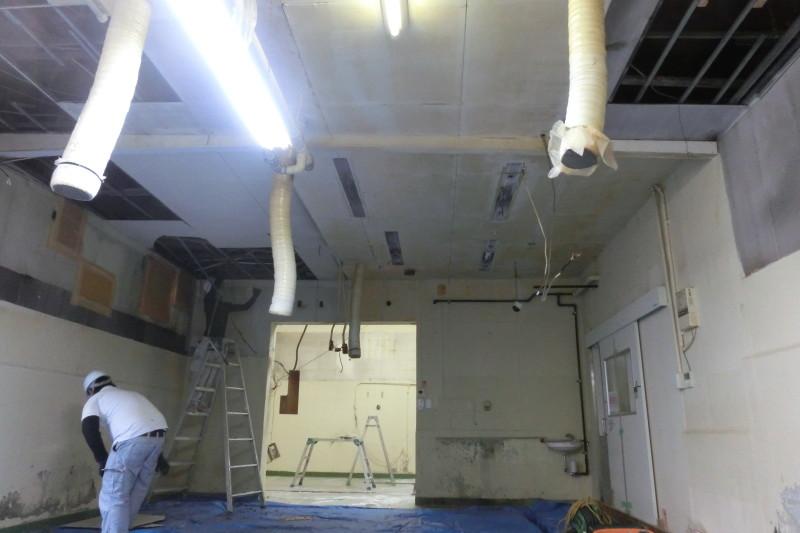 名古屋市守山区の工場の内装解体