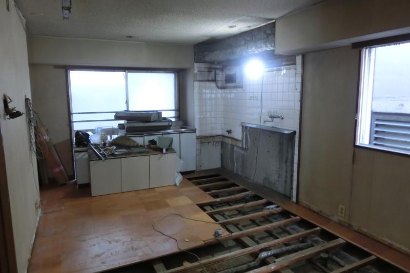 名古屋市昭和区の内装解体