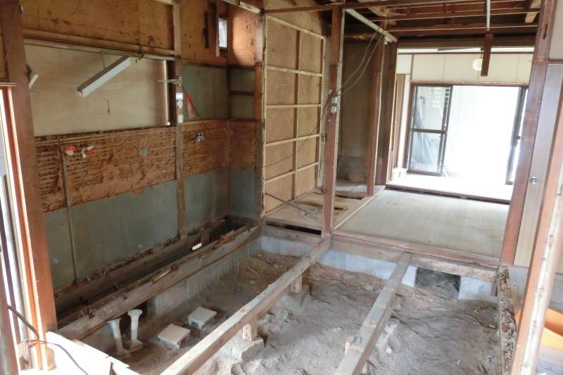 小牧市の内装解体