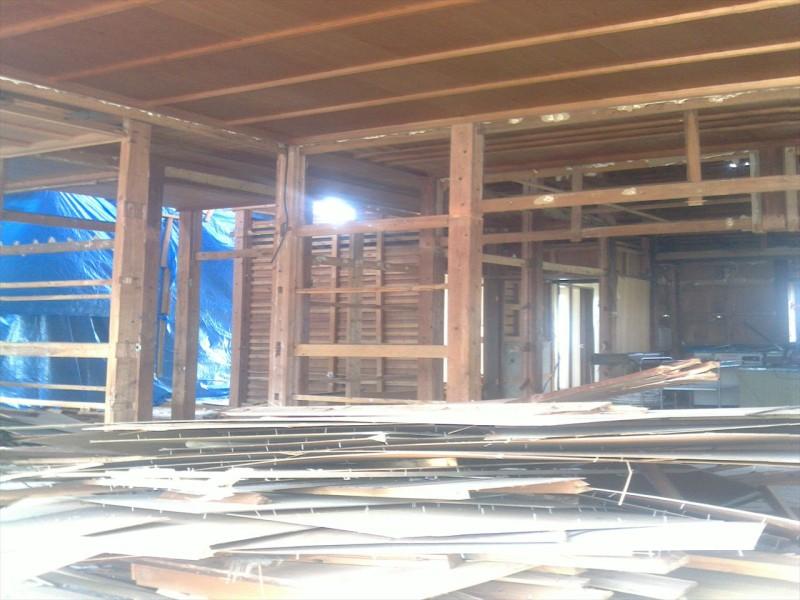 名古屋市名東区の解体工事