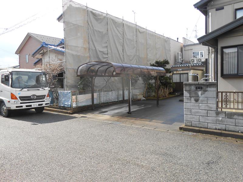 岐阜市の解体工事