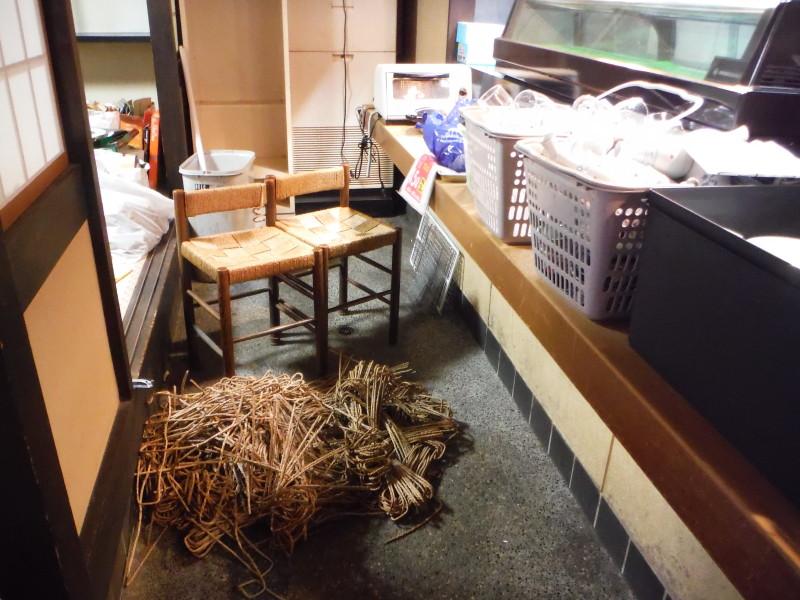 岐阜市 店舗の内装解体