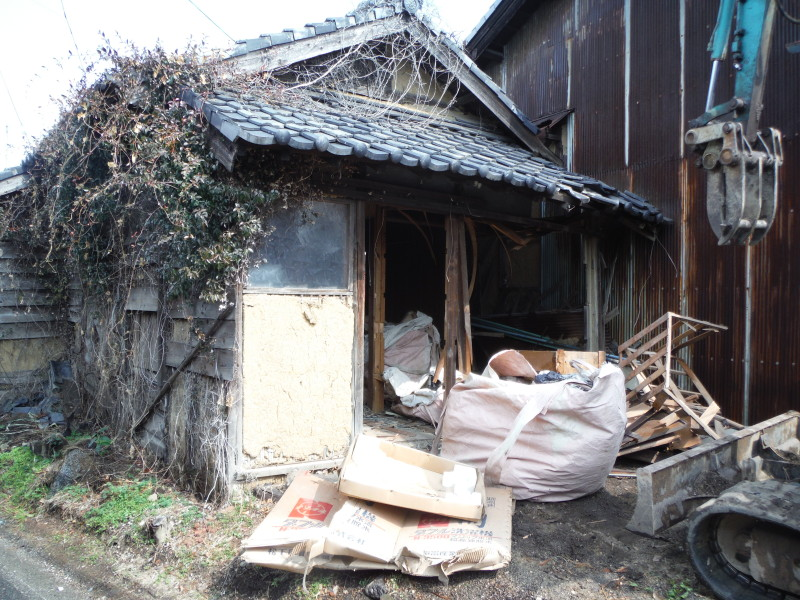 刈谷市の解体工事