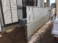 名古屋市守山区のブロック塀撤去