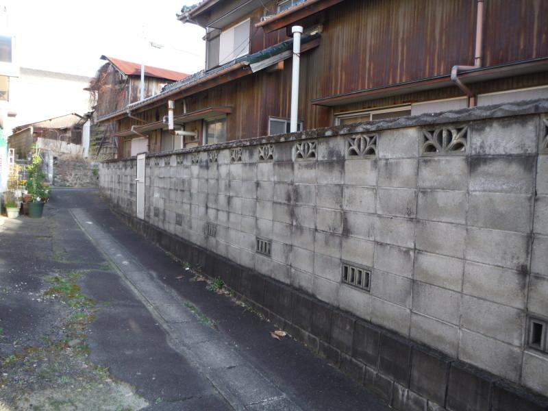 一宮市のブロック塀撤去