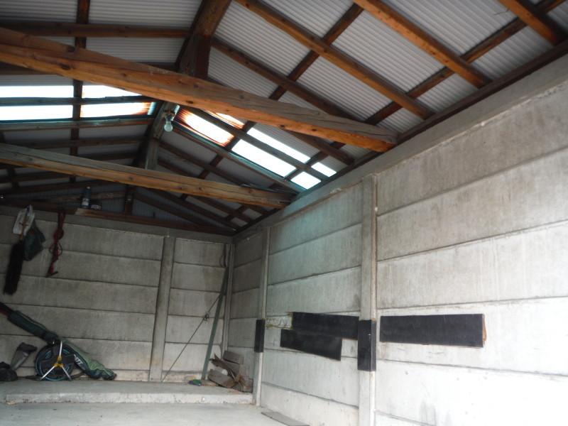 車庫の解体工事