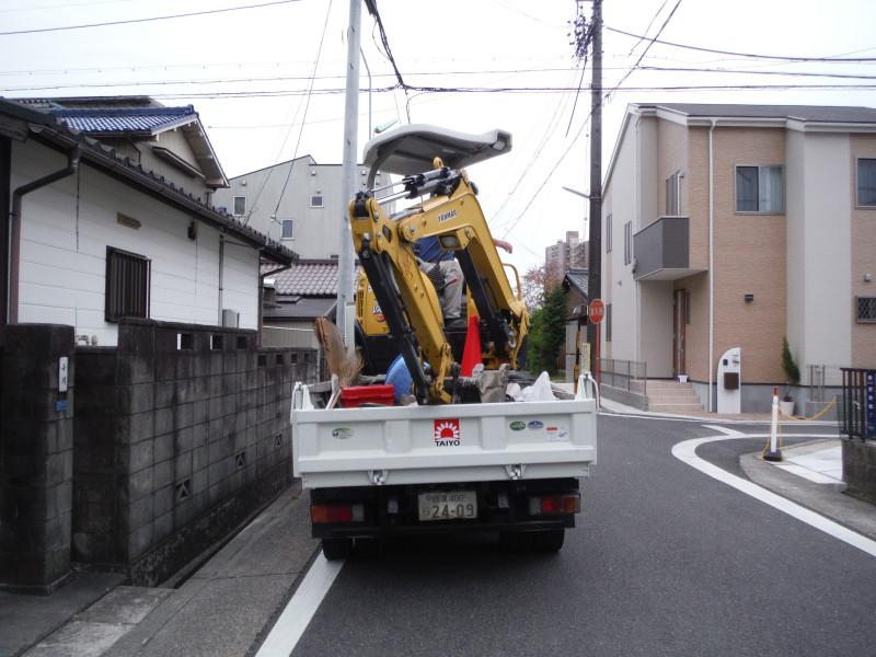 名古屋市守山区|ブロック塀の解体工事