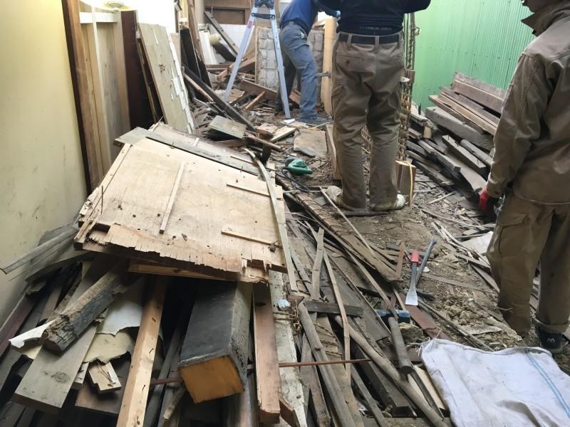 【費用事例】愛知県犬山市の木造住宅の解体工事【手壊し】