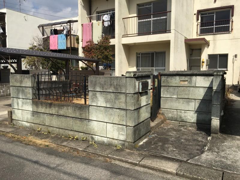 瀬戸市|ブロック塀の撤去お見積もり