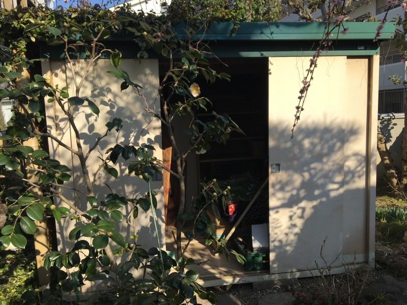 名古屋市天白区の物置き撤去工事お見積り調査