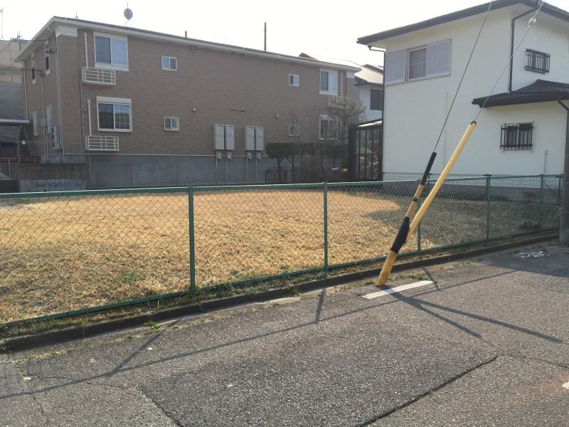 名古屋市のフェンス撤去